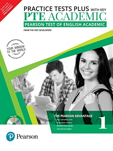 PTE Academic Practice Tests Plus (with key) by Pearson
