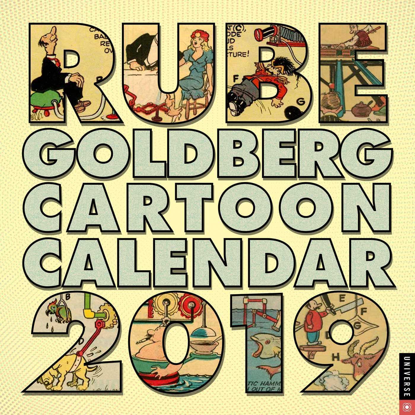 Rube Goldberg 2019 Wall Calendar