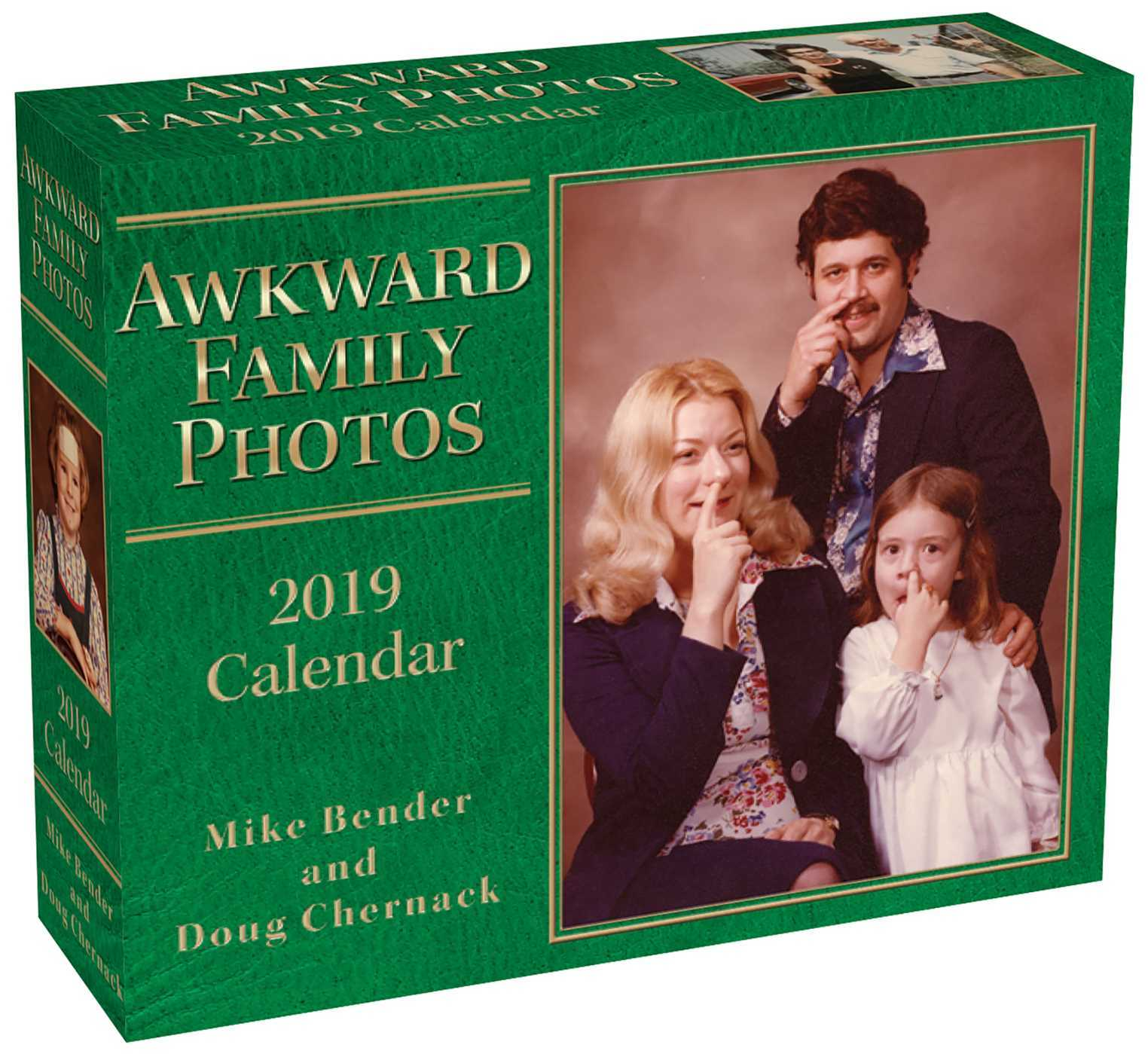 Awkward Family Photos 2019 Day-to-Day Calendar