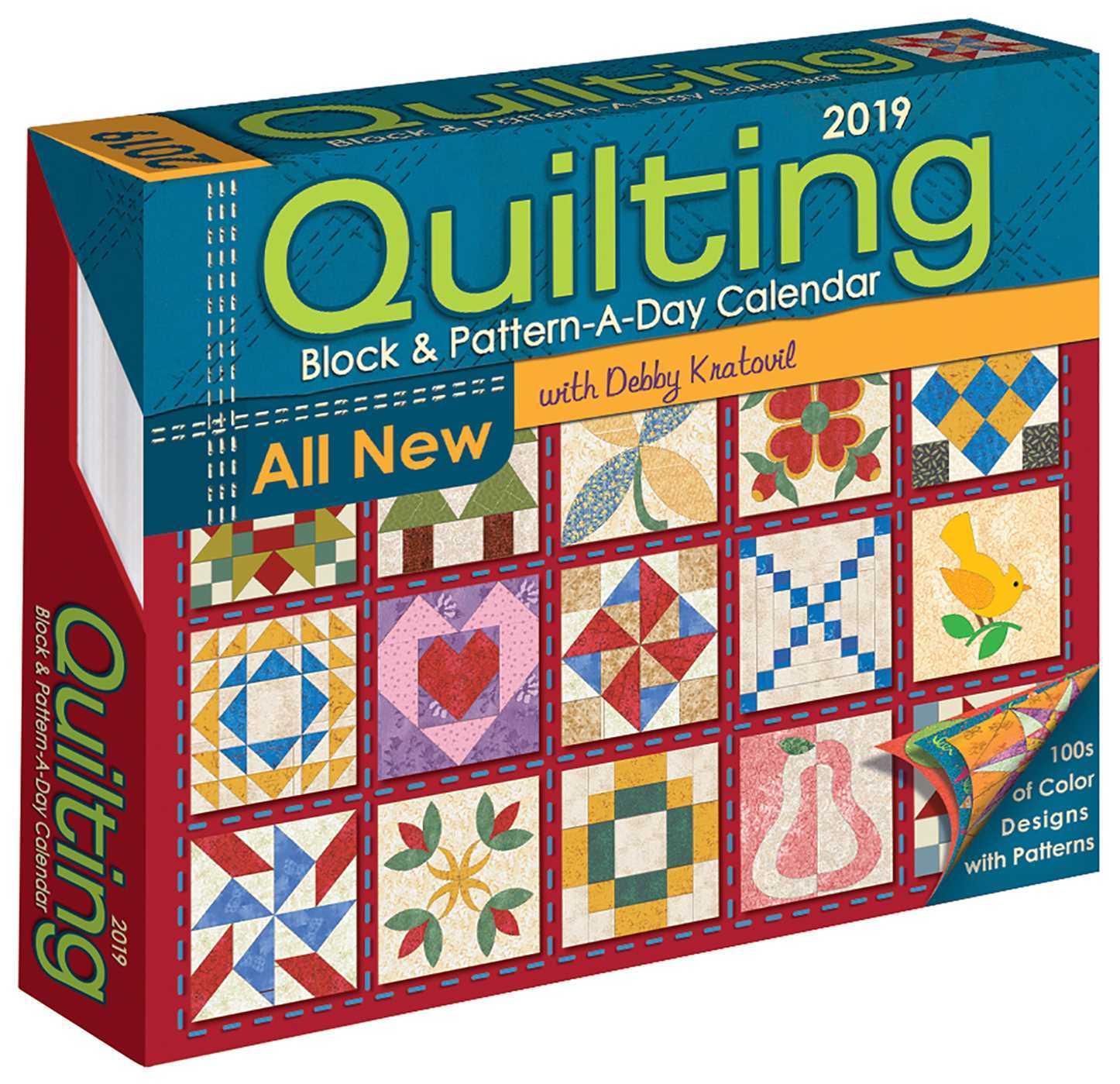 Quilting Block  Pattern-a-Day 2019 Calendar