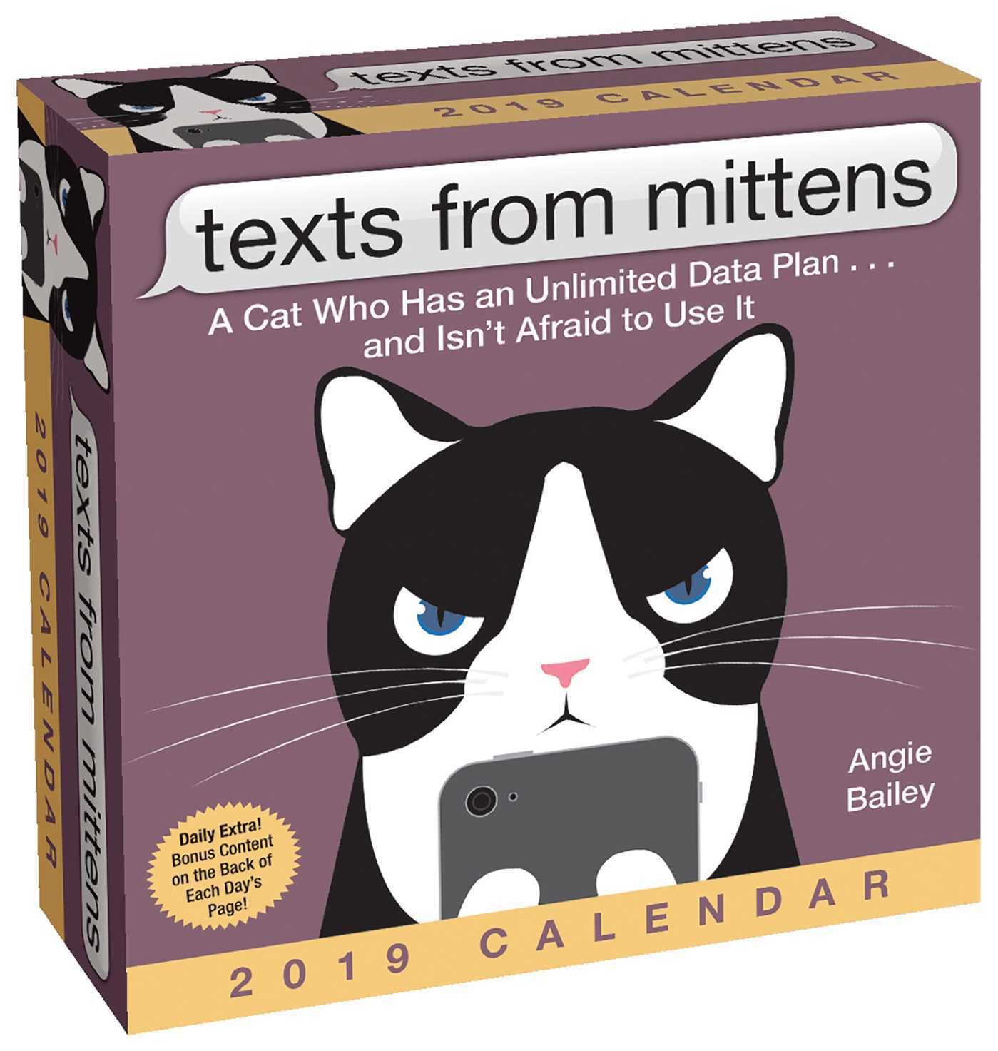 Texts from Mittens the Cat 2019 Day-to-Day Calendar