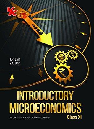 Introductory Microeconomics Class -11- CBSE- 2018