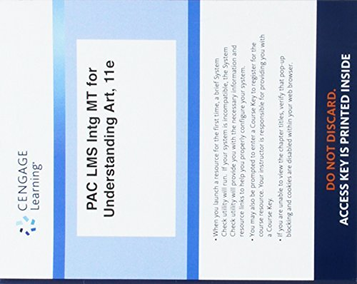 Lms Integrated for Mindtap Art & Humanities, 1 Term (6 Months) Printed Access Card for Fichner-Rathus' Understand Art, 11th