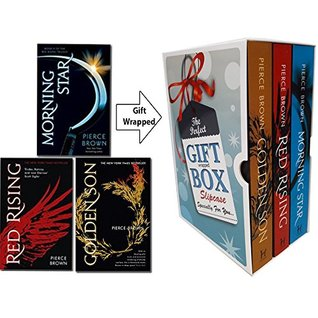 The Red Rising Trilogy Series Collection By Pierce Brown 3 Books Bundle Gift Wrapped Slipcase Specially For You