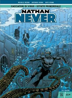 Nathan Never n. 35: Cacciatori di virus - Istinto primordiale