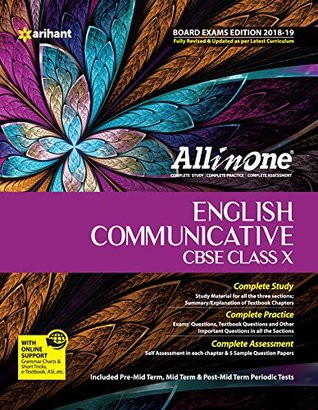 CBSE All in One English Communicative CBSE Class 10 (based on textbook Literature Reader) for 2018 - 19