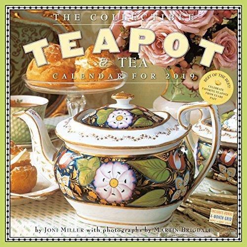 The Collectible Teapot  Tea Wall Calendar 2019