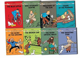 Adventures of Tintin Young Readers 8 Books Collection Pack Set