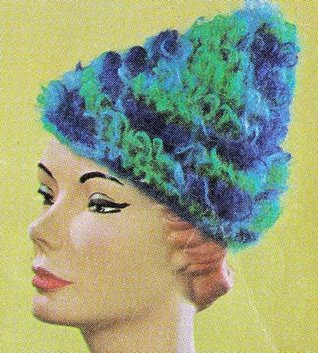 One-Skein Hat Cap Vintage Crochet Pattern EBook Digital Download