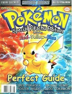 Pokemon Special Pikachu Edition Includes Red Yellow Blue (Versus Books Strategy Guide)