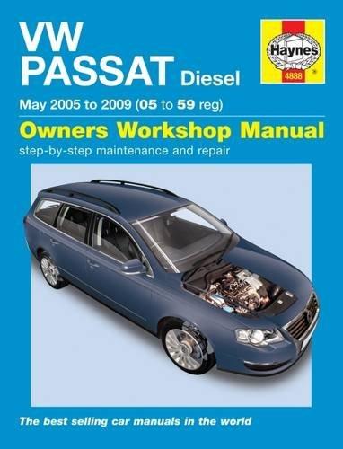 VW Passat Diesel (June 05 to 10) Haynes Repair Manual