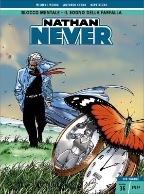 Nathan Never n. 36: Blocco mentale - Il sogno della farfalla