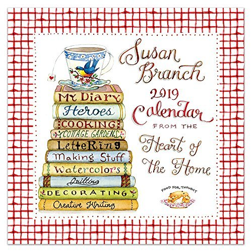 Susan Branch Heart of the Home 2019 Wall Calendar