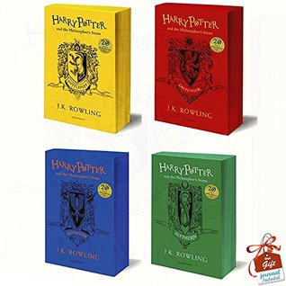 Harry Potter and the Philosopher's Stone 4 Books Bundle Collection By J.K. Rowling With Gift Journal