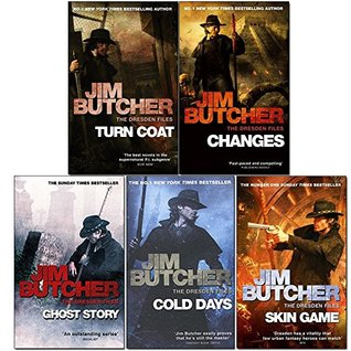 Jim Butcher Dresden Files Series 3 : 5 Books Collection Pack