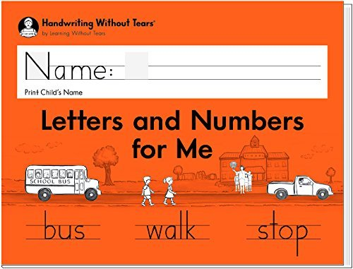 Handwriting Without Tears Letters and Numbers - Kindergarten - 2018 Edition