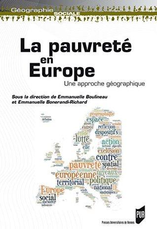 La pauvreté en Europe: Une approche géographique