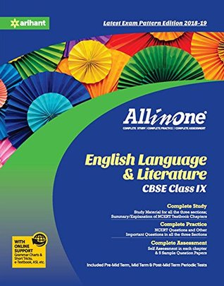 All In One English Language and Literature CBSE Class 9th