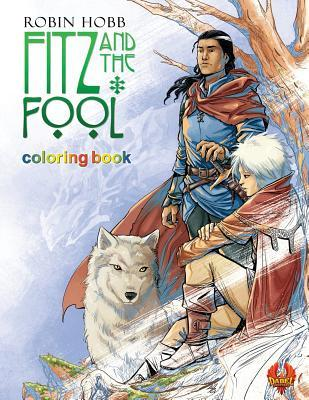 Fitz and the Fool: Coloring Book