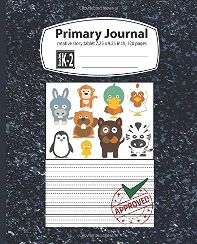 Primary Journal Grades k-2: primary journal top half blank composition book creative story tablet grades k-2 for kids first grade kindergarten early ... notebooks picture box story paper (Volume 1)