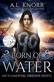 Born of Water (Elemental Origins, #1)
