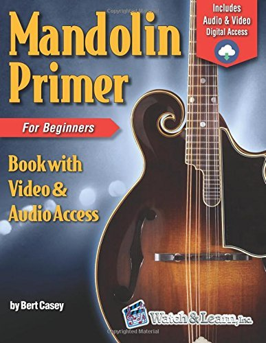 Mandolin Primer Book for Beginners