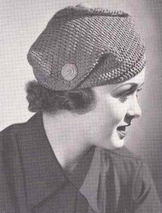 Crochet Turban Slouch Hat Cap Pattern EBook Download