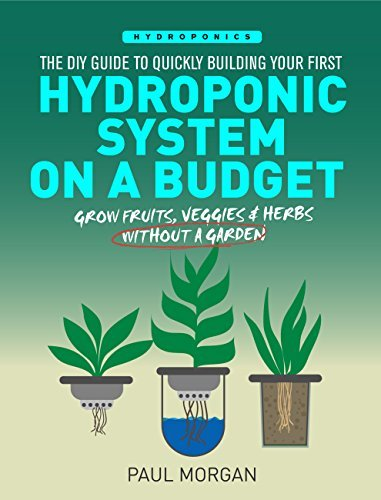 Hydroponics: The DIY Guide to Quickly Building Your First Hydroponic System On A Budget