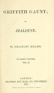 Griffith Gaunt; or Jealousy Vol 2 of 3