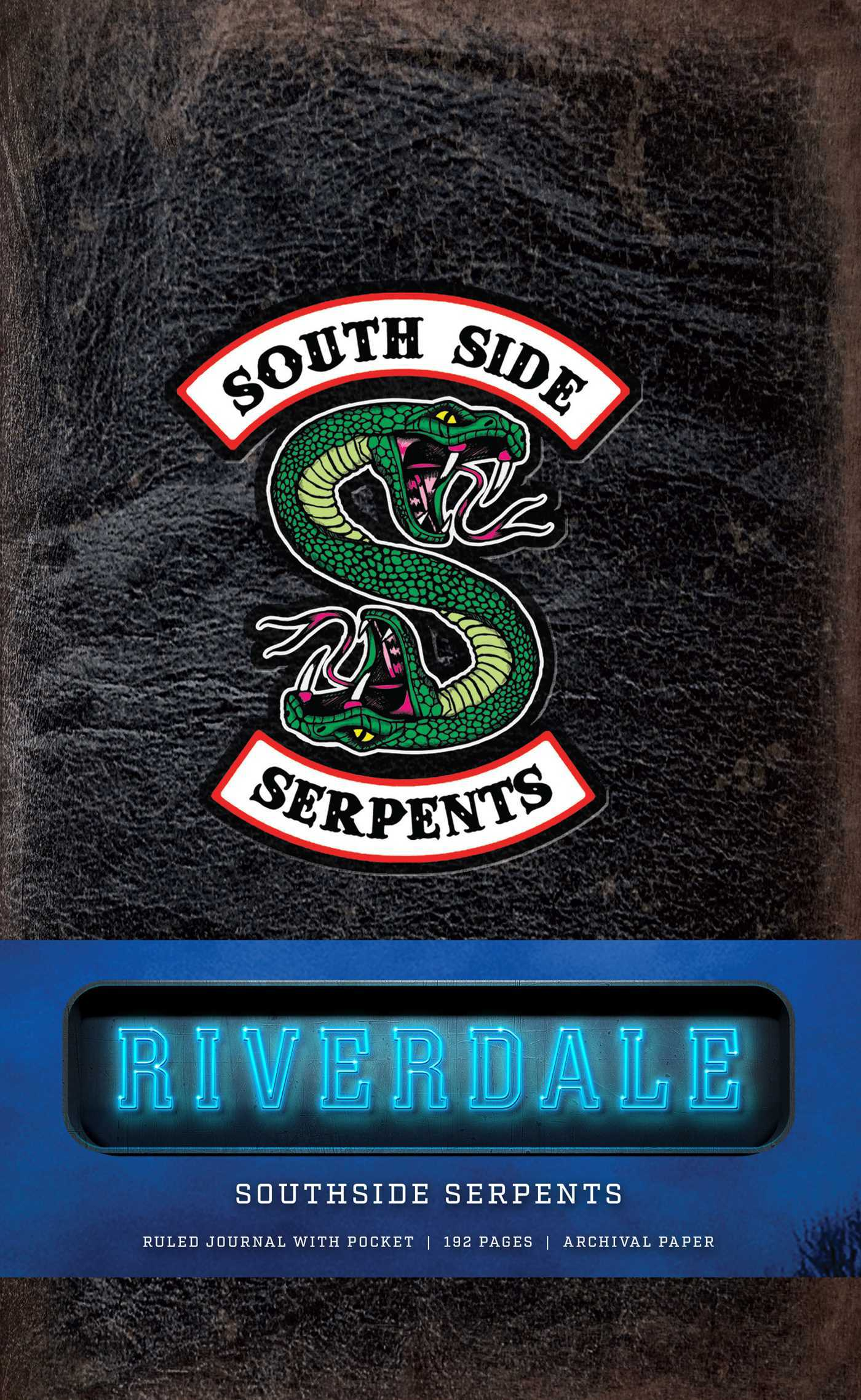 Riverdale Hardcover Ruled Journal: Southside Serpents