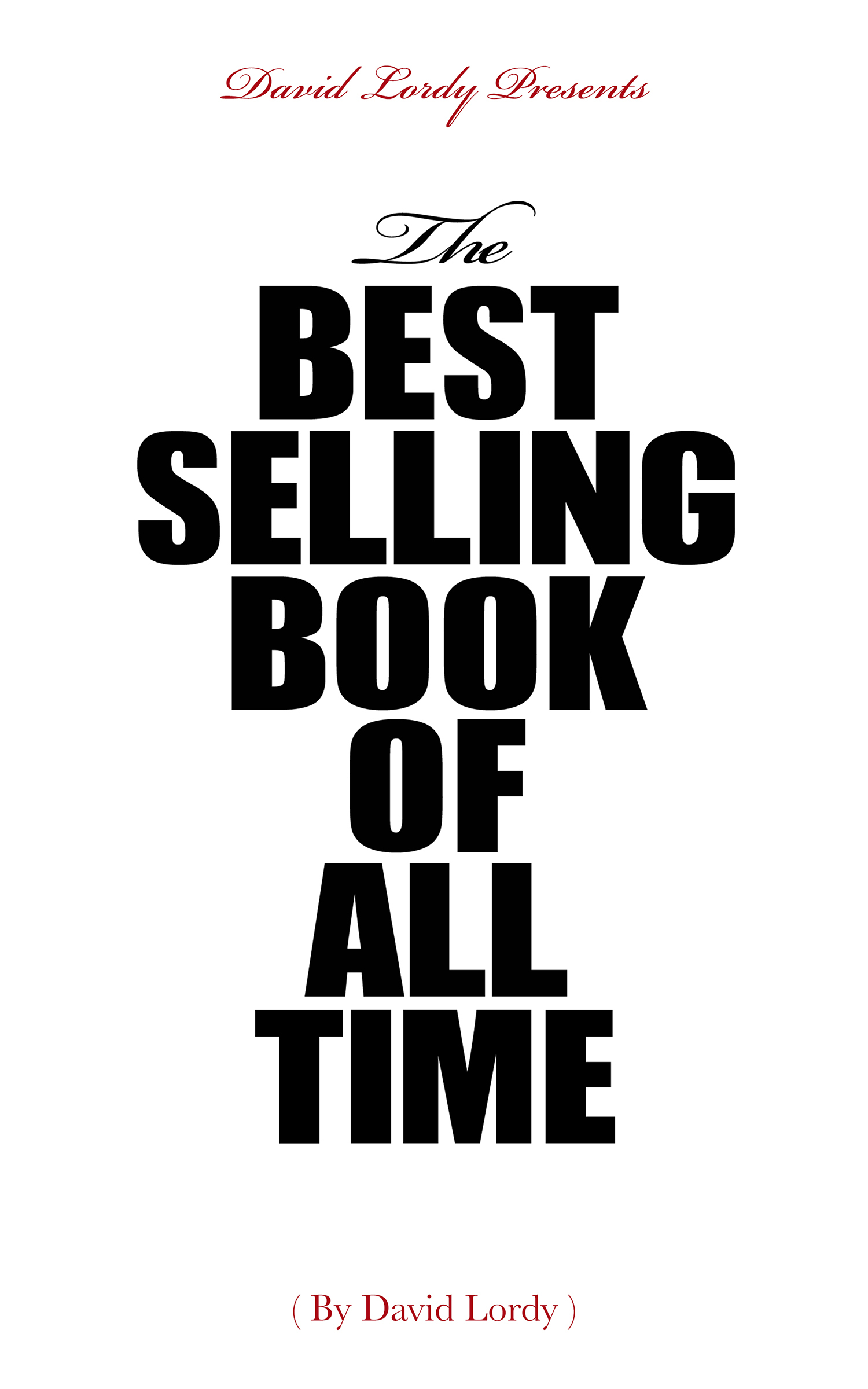 The Best Selling Book of All Time