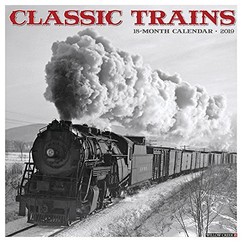 Classic Trains 2019 Wall Calendar