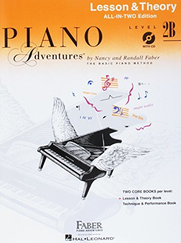 Piano Adventures: Level 2B Lesson And Theory Book - International Anglicized Edition (Book/CD)
