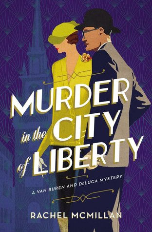 Murder in the City of Liberty (A Van Buren and DeLuca Mystery #2)