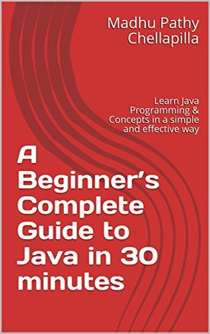 A Beginner's Complete Guide to Java in 30 minutes: Learn Java Programming & Concepts in a simple and effective way