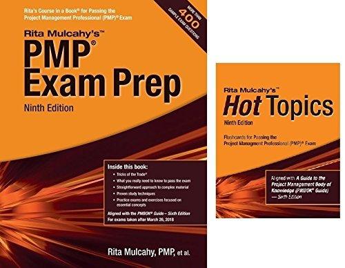 PMP Exam Prep Book & Hot Topics Flashcards