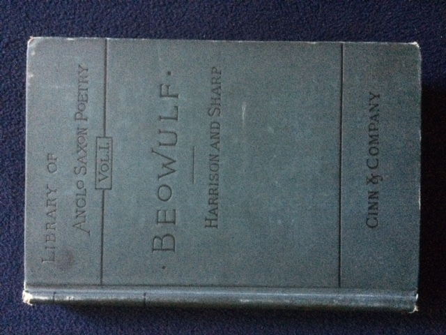 Beowulf (Library of Anglo Saxon Poetry, 1)