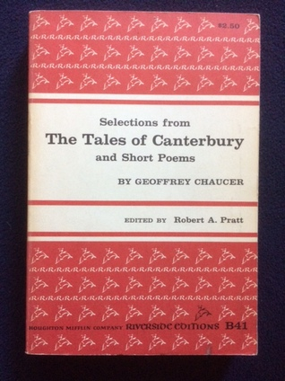 Selections From The Tales of Canterbury and Short Poems