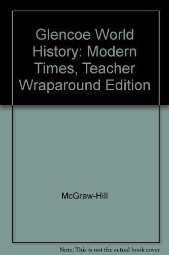 World History Modern Times Teacher Edition
