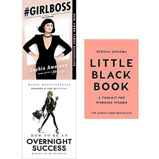Girlboss, how to be an overnight success [hardcover] and little black book 3 books collection set