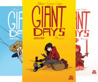Giant Days Vol. 1 Collection #1-4 (4 Book Series)