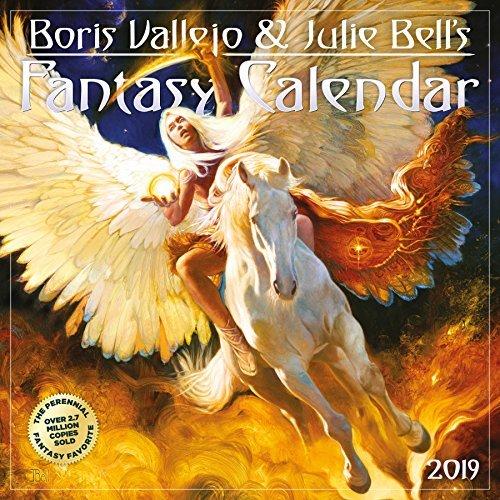 Boris Vallejo  Julie Bell's Fantasy Wall Calendar 2019