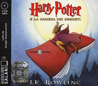 Harry Potter e la camera dei segreti letto da Giorgio Scaramuzzino. Audiolibro. 2 CD Audio formato MP3. Ediz. integrale