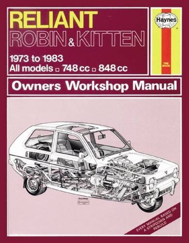 Reliant Robin & Kitten (73-83) Haynes Repair Manual