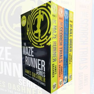Maze Runner Series James Dashner Collection 4 Books Bundle