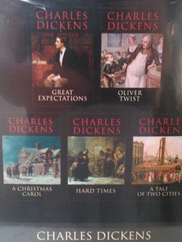 Charles Dickens Boxset: Christmas Carol; Great Expectations; Hard Times; Oliver; A Tale of Two Cities