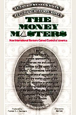 The Money Masters Book