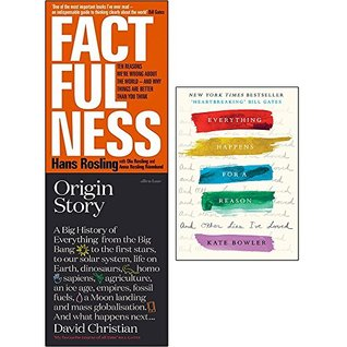 Factfulness, origin story, everything happens for a reason, 3 books collection set
