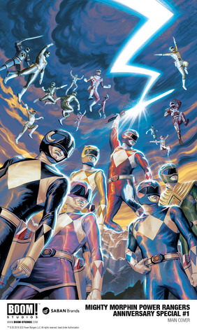 Mighty Morphin' Power Rangers 25th Anniversary Special #1
