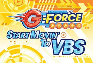 Vacation Bible School (VBS) 2015 G-Force Invitation Postcards (Pkg of 25): God's Love in Action (G-Force (Vbs))